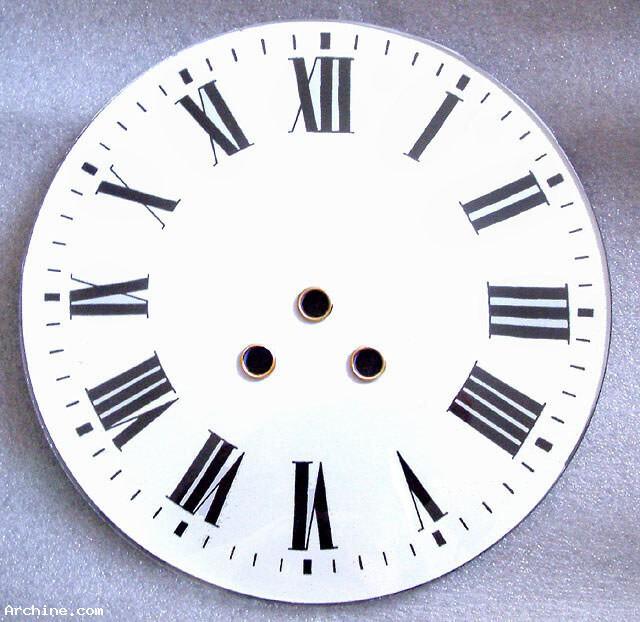 horlogerie cadran de remplacement pour pendule oeil de. Black Bedroom Furniture Sets. Home Design Ideas