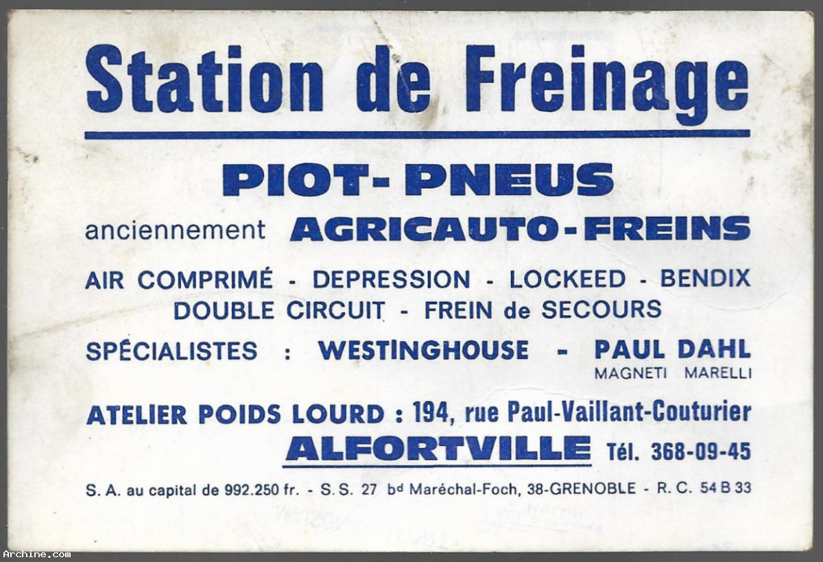 Carte De Visite Publicitaire