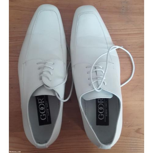 Chaussures Heqqw5o Bapteme Blanches Mariage 39 Garcon Homme P Ceremonie zxqwv5nt8
