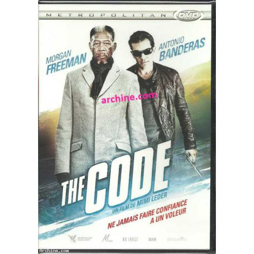 THE CODE ~ Morgan Freeman, Antonio Banderas, Radha Mitchell ~ DVD