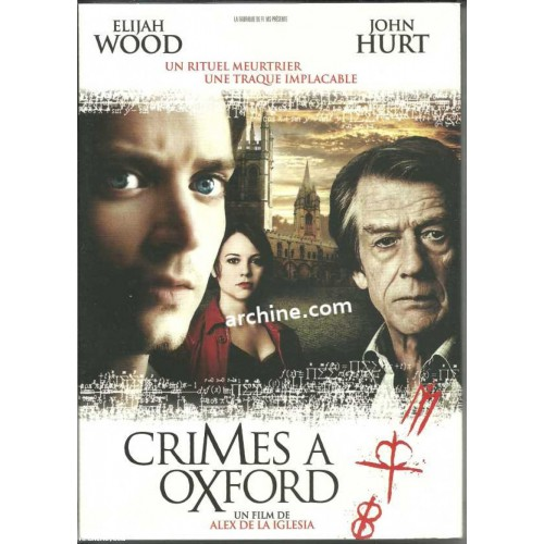 DVD ** CRIMES A OXFORD avec Elijah Wood, John Hurt, Leonor Watling