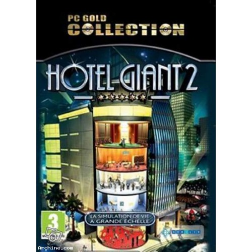 Jeu PC NEUF - Hotel Giant 2 - Gold Collection